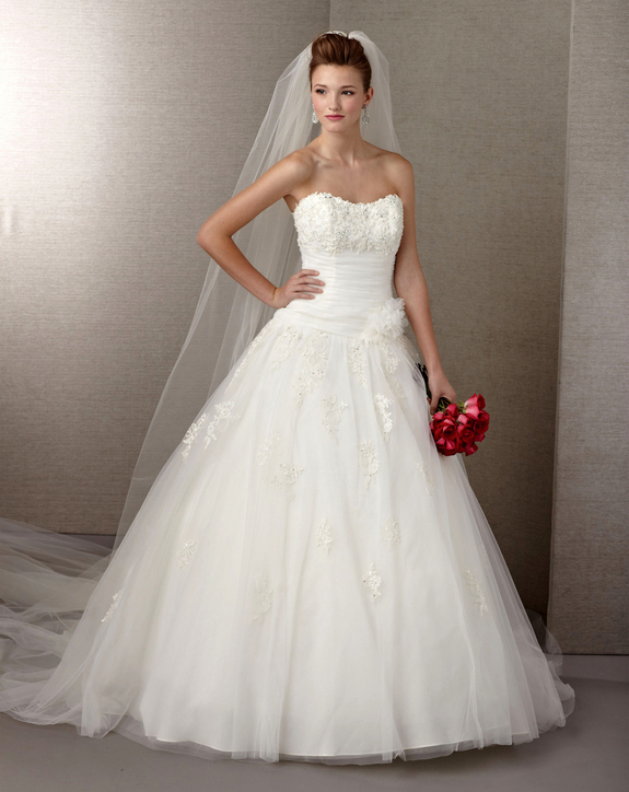 stunning claudine alyce bridal dress