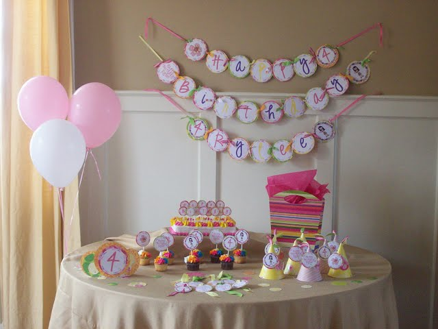 Creative ideas for bridal shower decoration sang maestro - Decoration baby shower ...