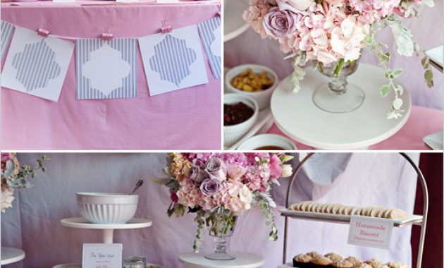 Pink Bridal Shower Decoration Ideas
