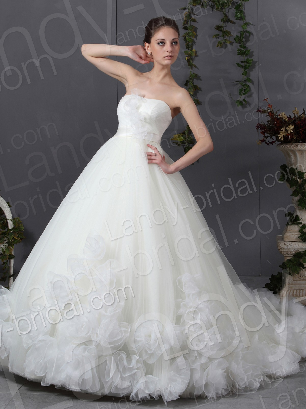 strapless ball gown wedding dresses