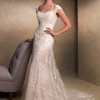 wedding dresses with cap sleeves