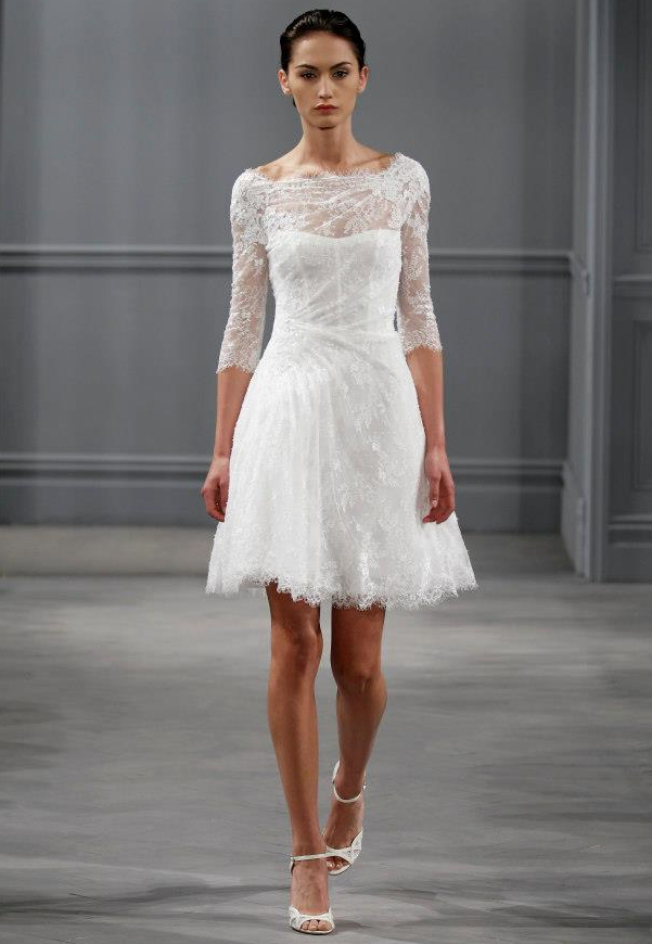 Elegant Photos Of Short Spring Wedding Dresses For Simple