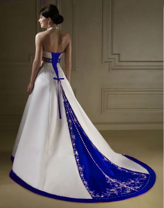 royal blue and white wedding dresses beautiful photos of royal blue wedding dresses sang maestro 7152