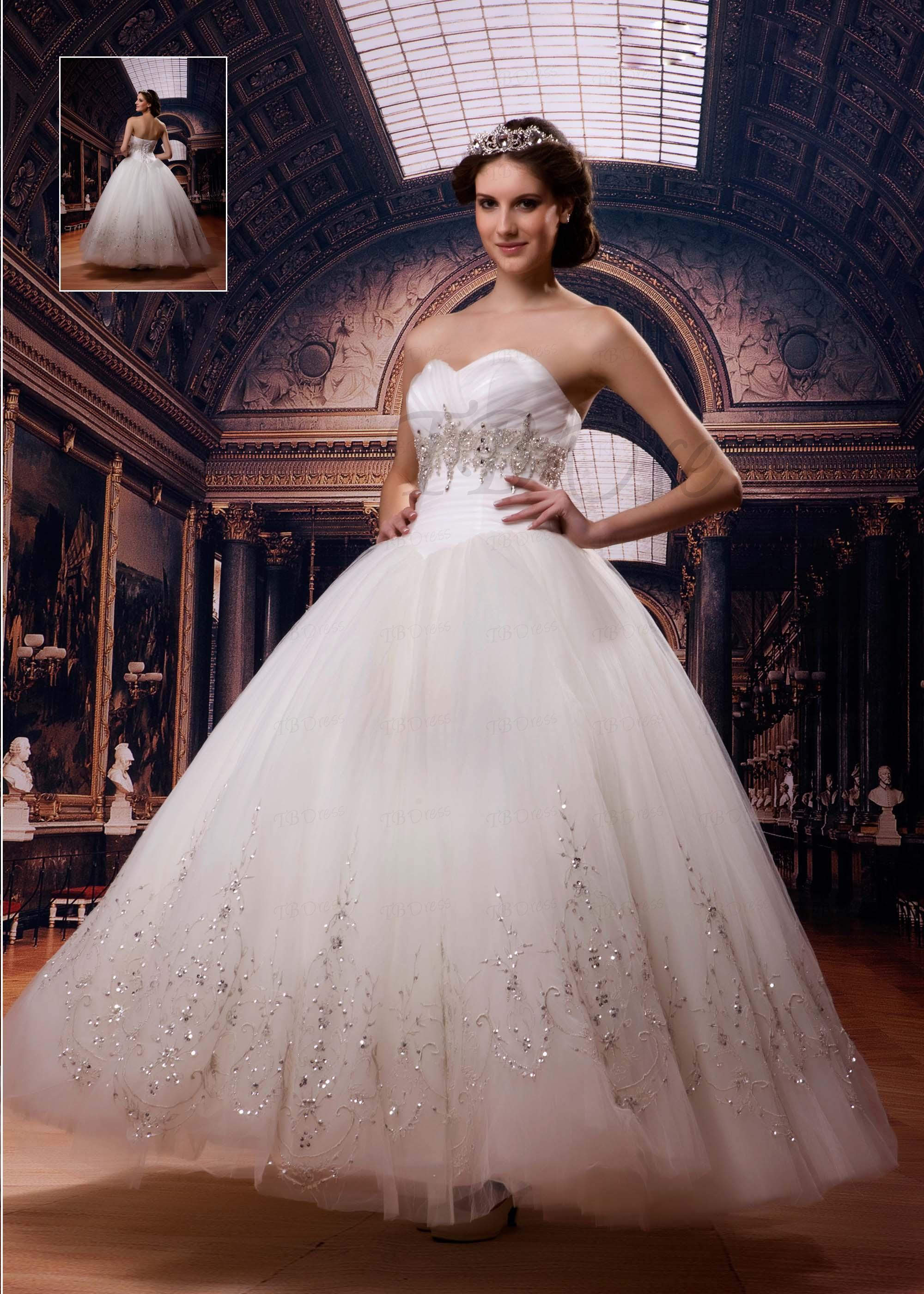 elegant collection of princess wedding dresses for royal
