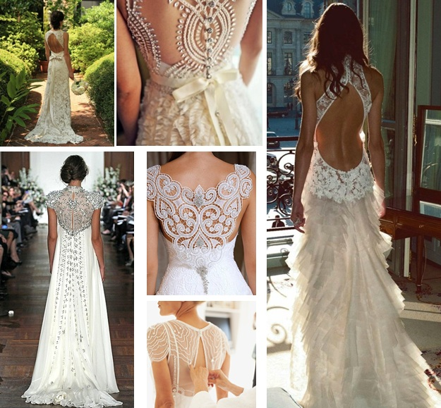 Beautiful Collection of Wedding Dresses with Amazing Back Detail ...