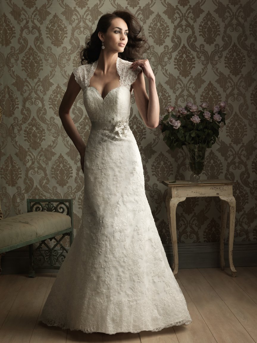 sexy sweetheart wedding dress with beading and lace sang