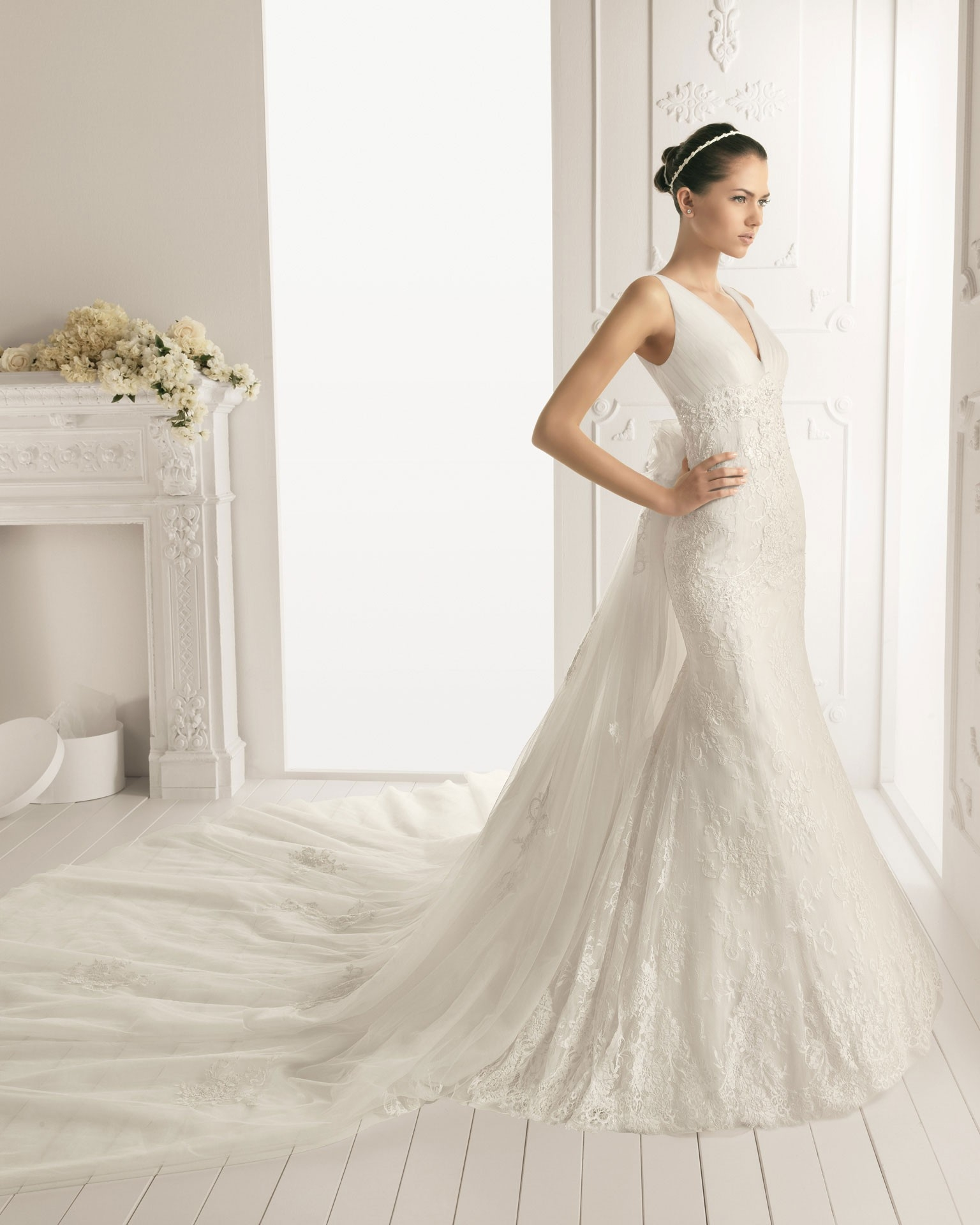 Bridal Dress With Detachable Train: A Collection Of Gorgeous Wedding Dresses With Detachable
