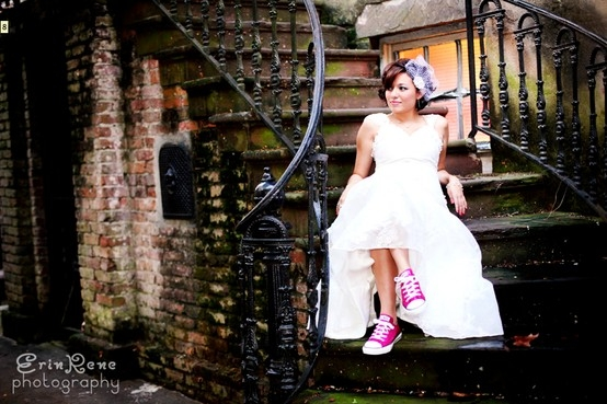 Wedding Dresses With Converse