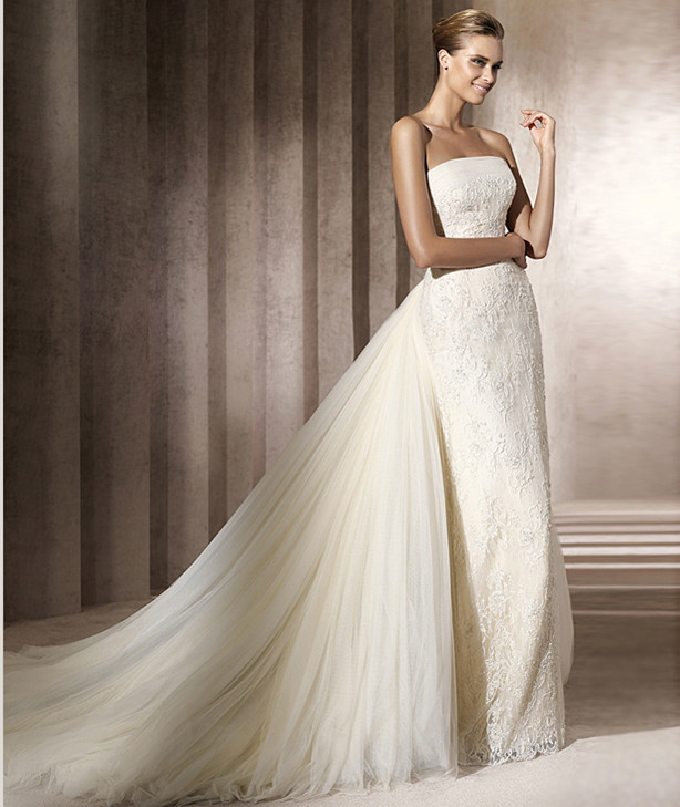 Wedding Dresses With Detachable Train