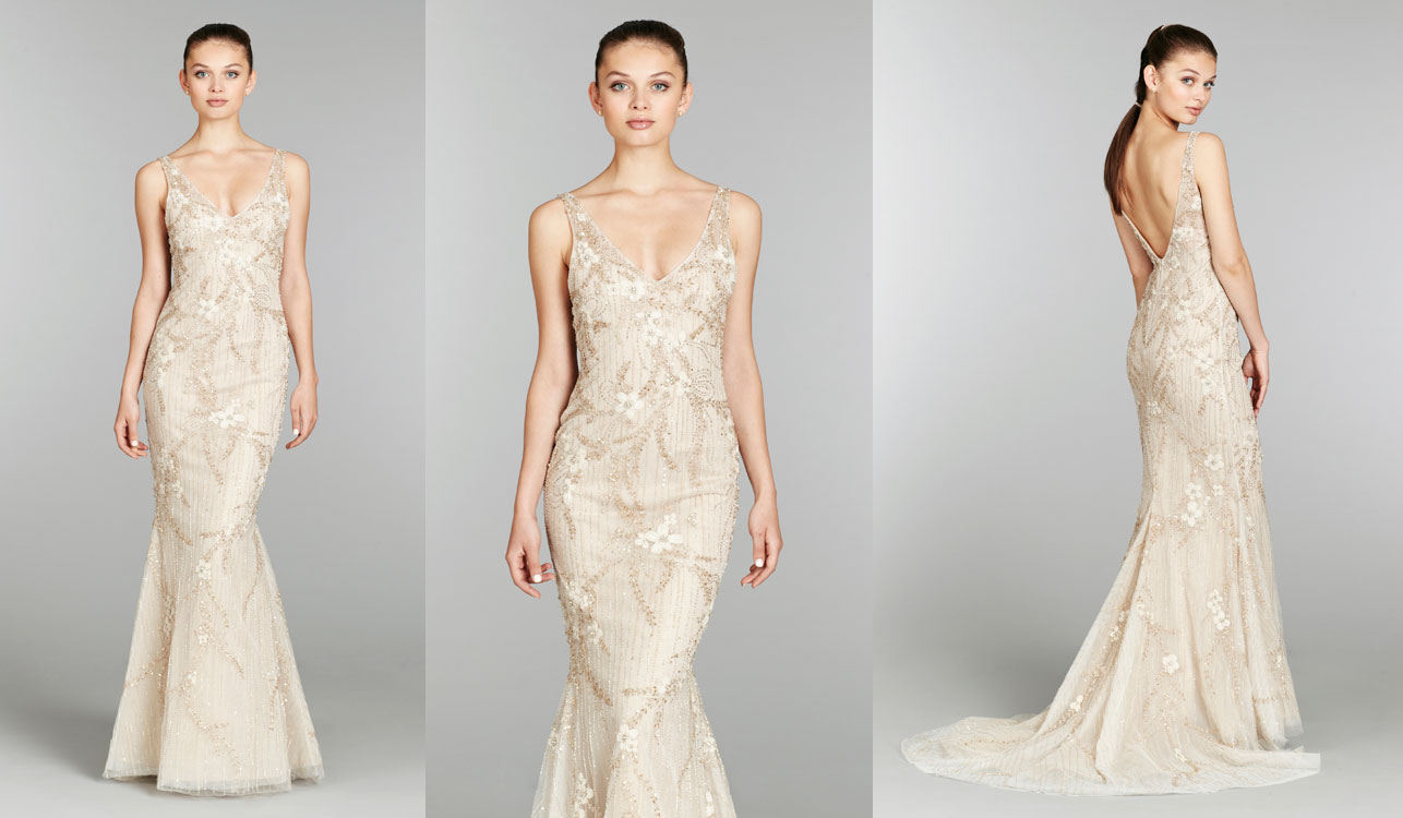 wedding dresses with gold beading sang maestro