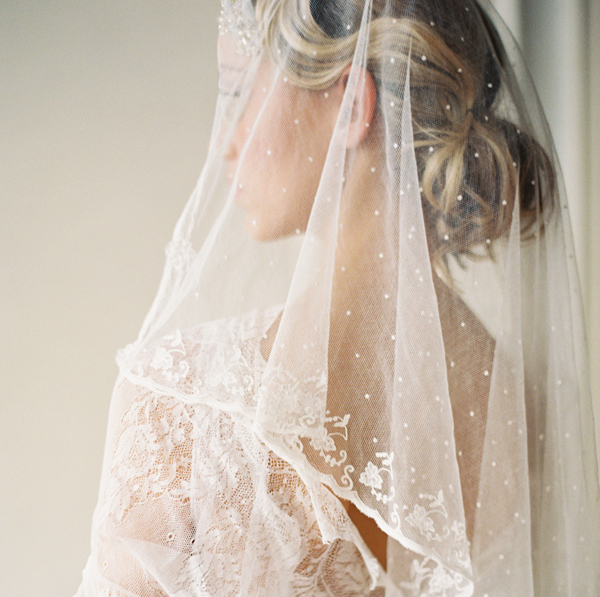 antique lace wedding veils