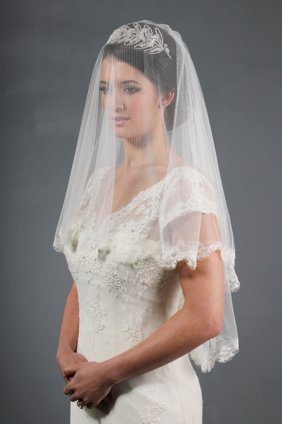 Gorgeous Photos Of Lace Wedding Veils Sang Maestro