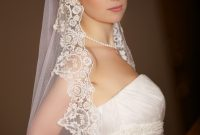 silk wedding veil