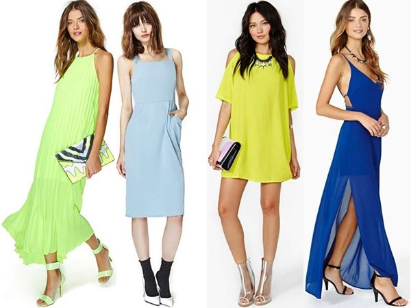 cheerful summer wedding guest dresses