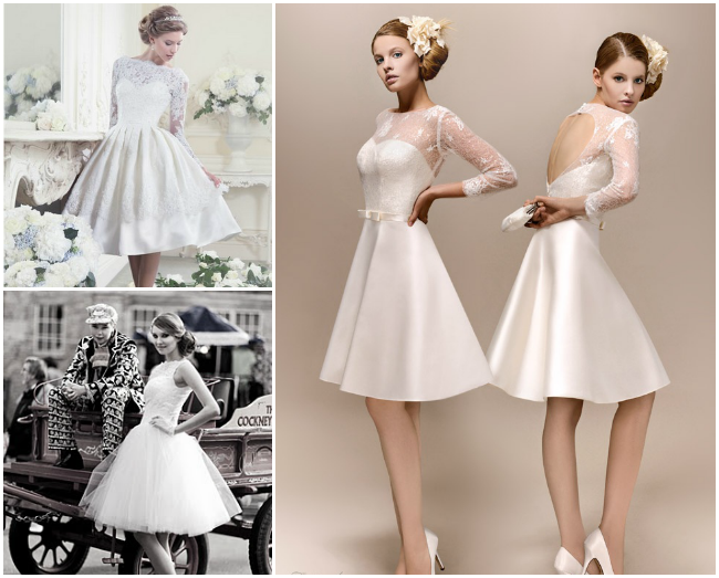 A stunning collection of vintage short wedding dresses for Vintage wedding dresses online