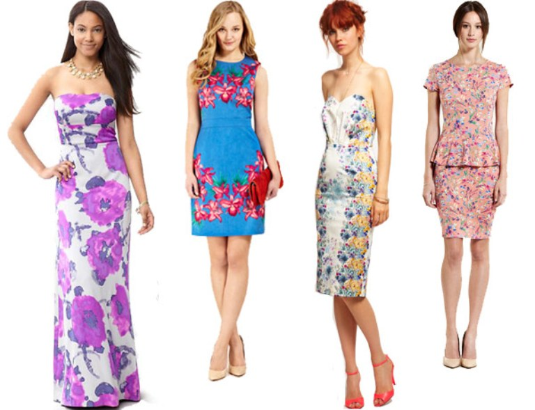 Above Casual Colorful Summer Wedding Guest Dresses Photo Is Via