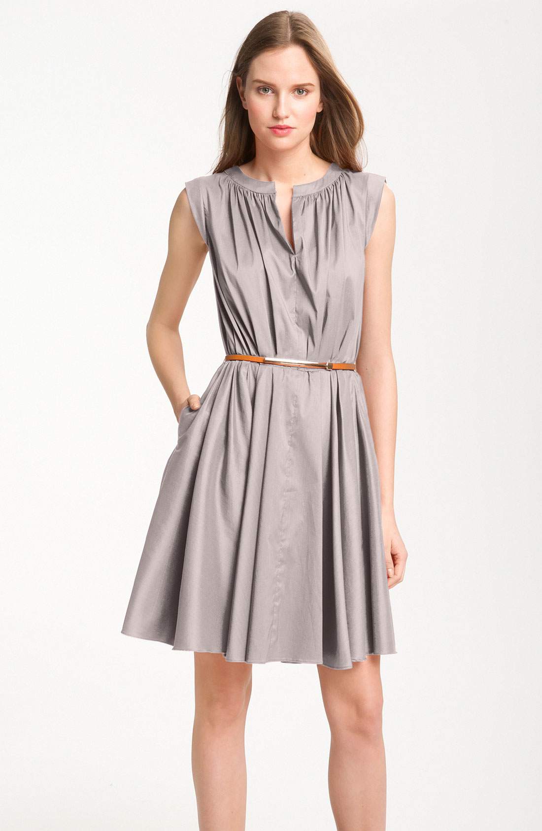 Fall wedding guest dresses to inspire you sang maestro for Grey dress wedding guest