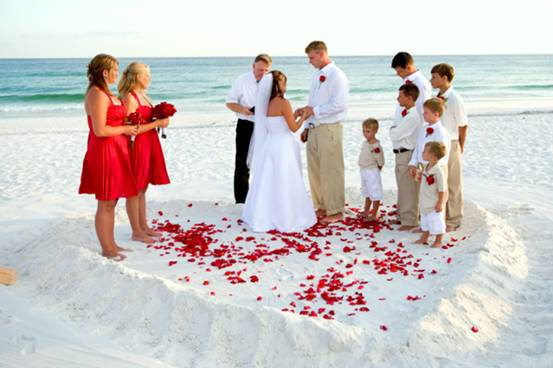 beach white wedding attire for groom