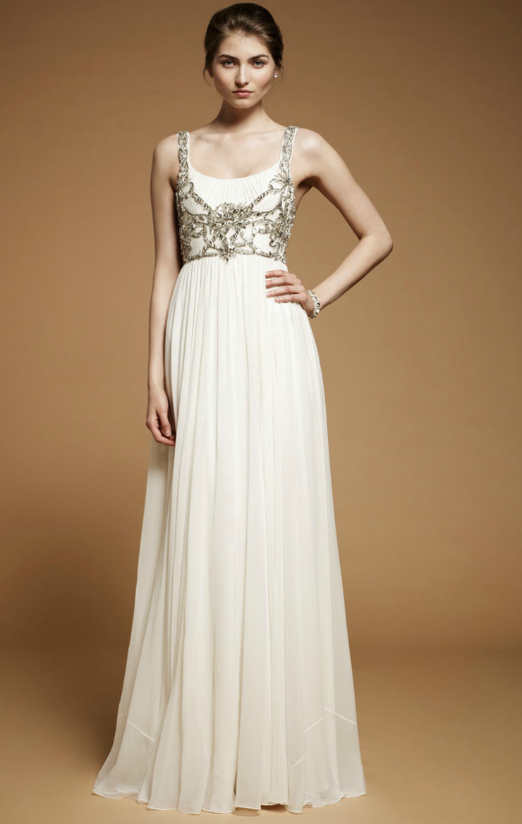 beaded wedding dress from Jenny Packham