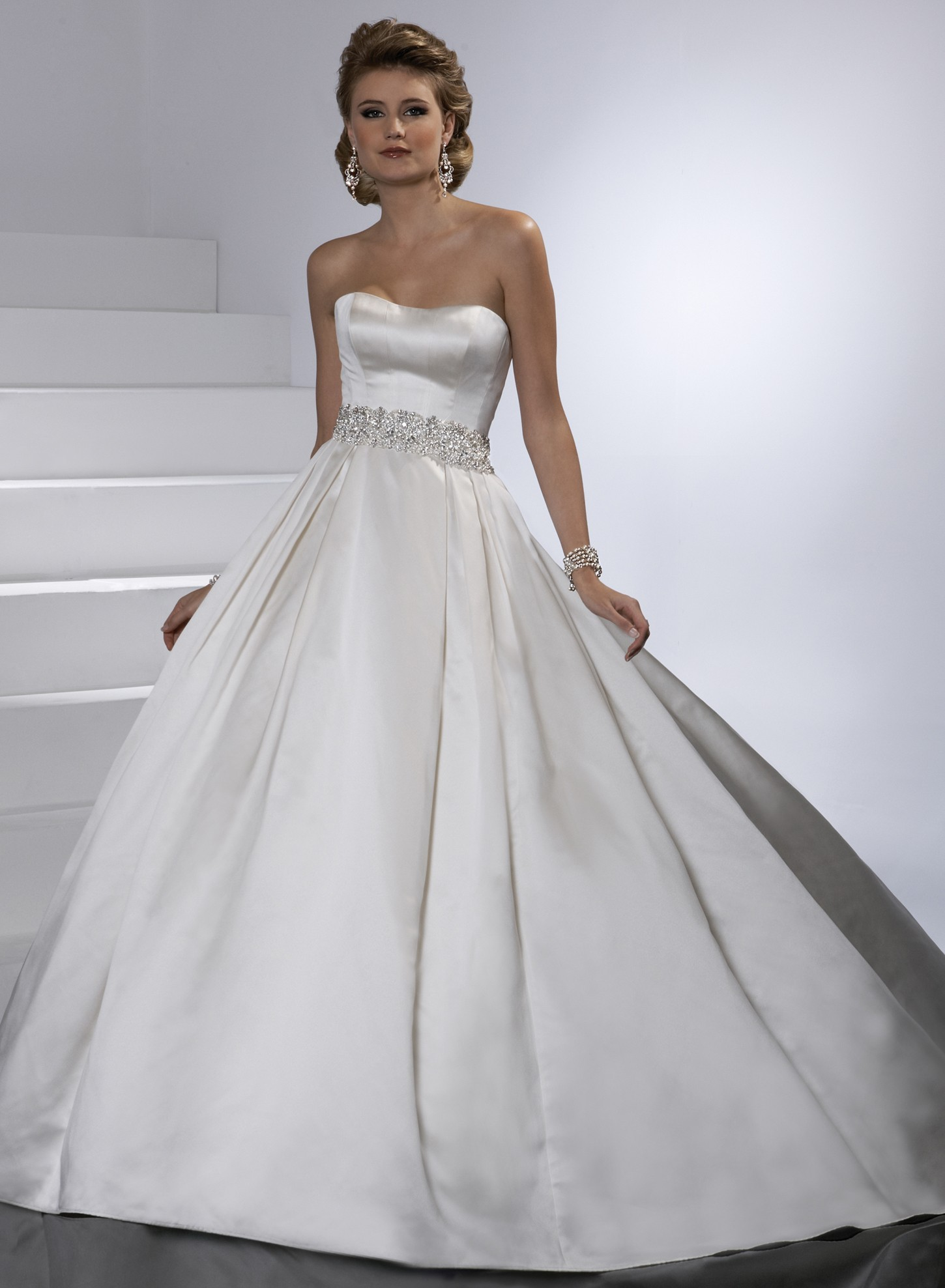 graceful satin ball gown wedding dresses sang maestro With satin ball gown wedding dresses