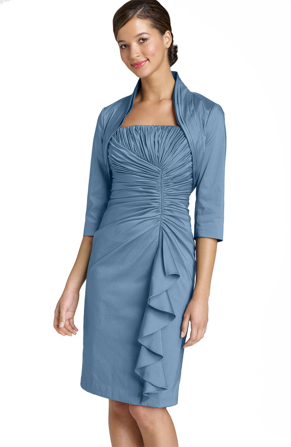 Wedding guest dresses with jackets to come elegantly for Dress and jacket for wedding guest