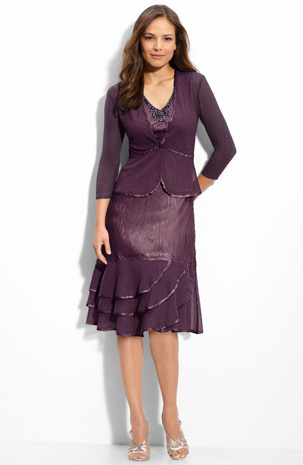 Wedding Guest Dress With Jacket