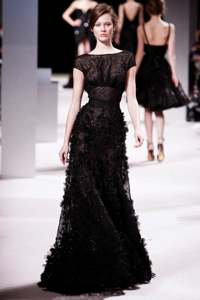 Black lace wedding dress sangmaestro for Images of black wedding dresses