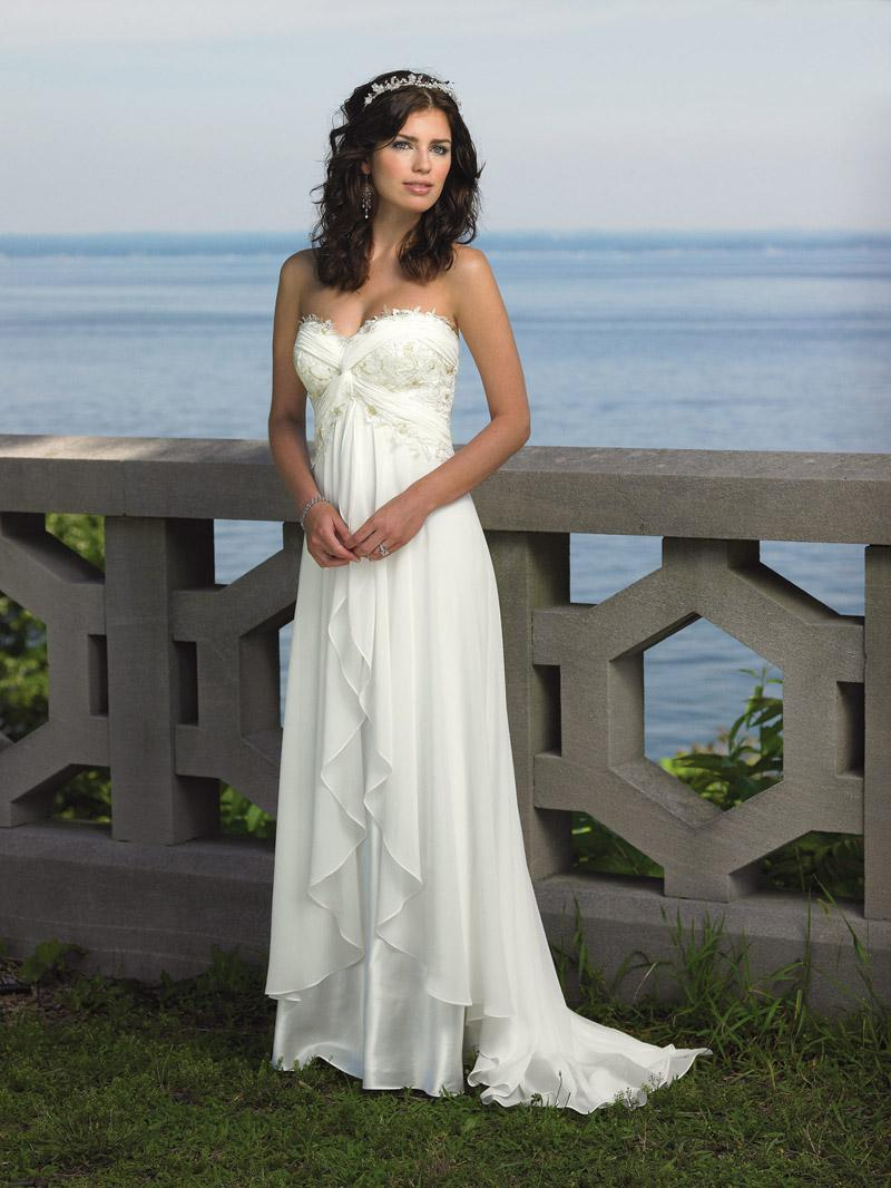 Summer wedding dresses sangmaestro for Dress for a summer wedding