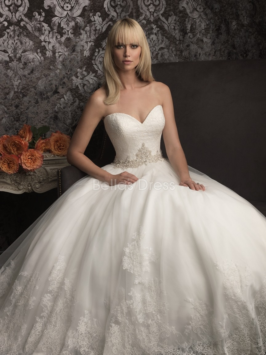 gorgeous princess wedding dress