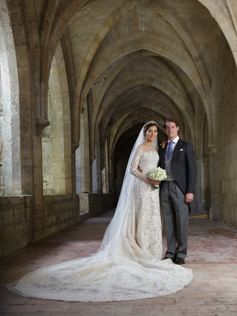 Princess Claire Luxembourg wedding dress