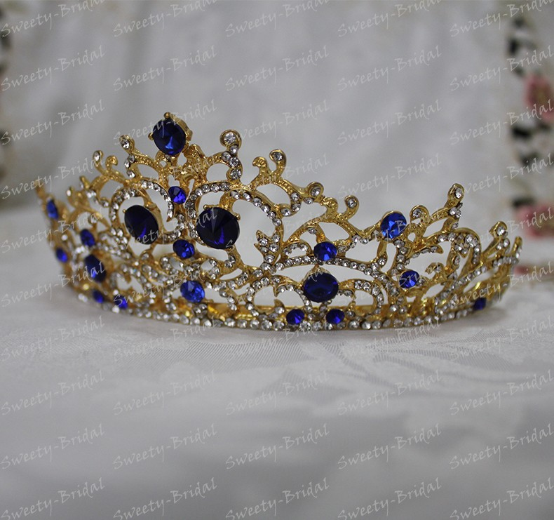 colored wedding tiaras