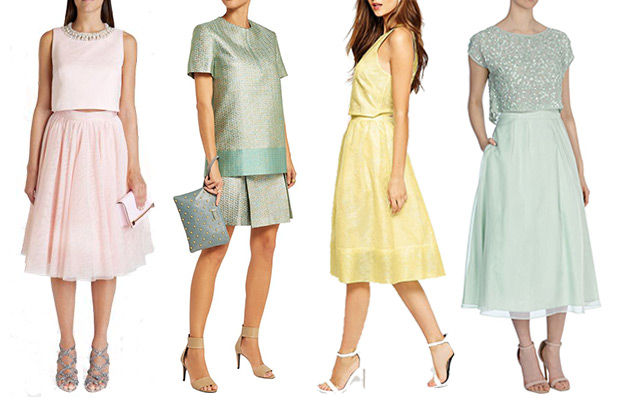 Fabulous wedding guest dresses 2015 uk sang maestro for Pastel dresses for wedding guests