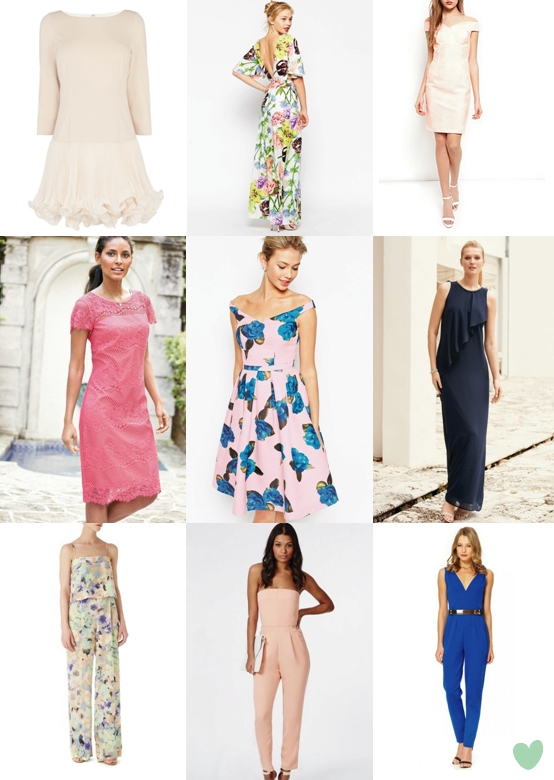 wedding guest dresses 2015 with floral motifs