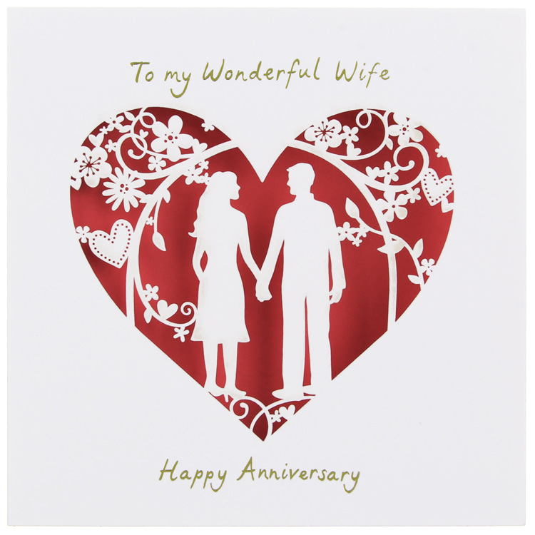 Sample design wedding anniversary card for wife sang maestro