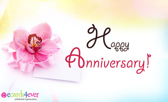 simple wedding anniversary card for friends