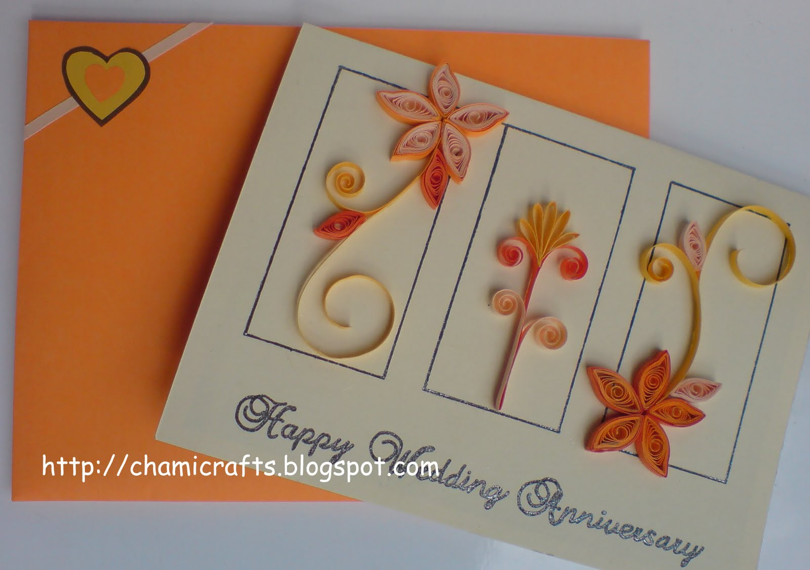 Wedding Anniversary Card Design For Parent
