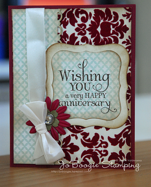 wedding anniversary card design for parents
