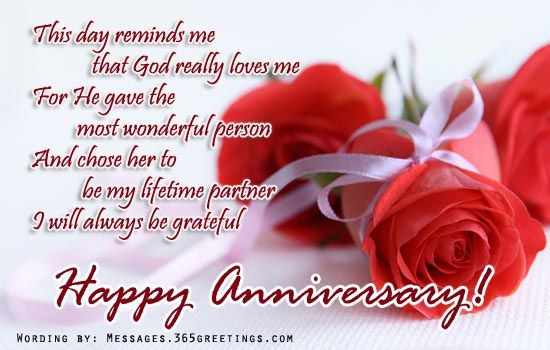 wedding anniversary card for wife with sweet quotes