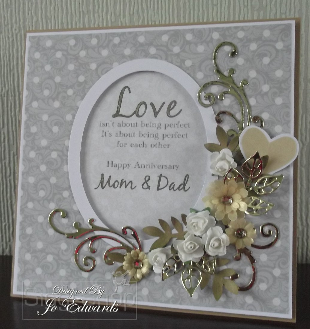 wedding anniversary cards for parents
