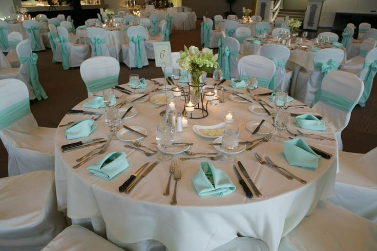 light blue wedding decoration ideas