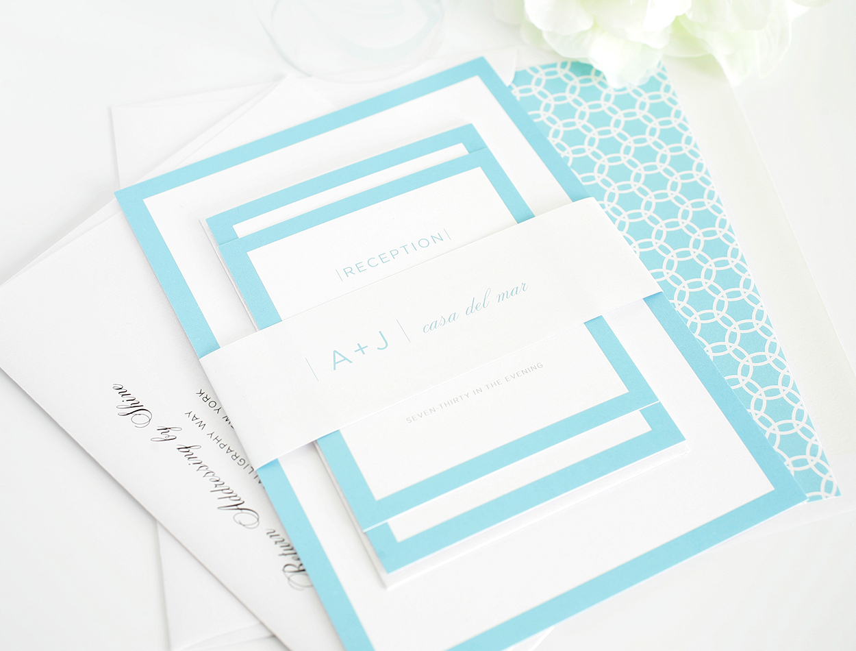 light blue wedding invitation sample sang maestro With wedding invitation sample light blue