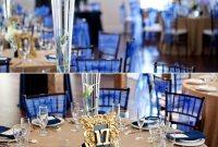 navy blue wedding decorations