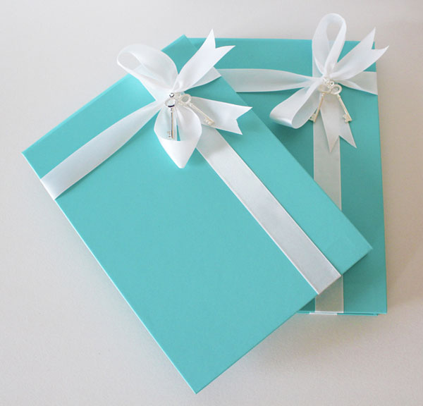 Tiffany Blue Wedding Invitations With White Ribbon Sang Maestro