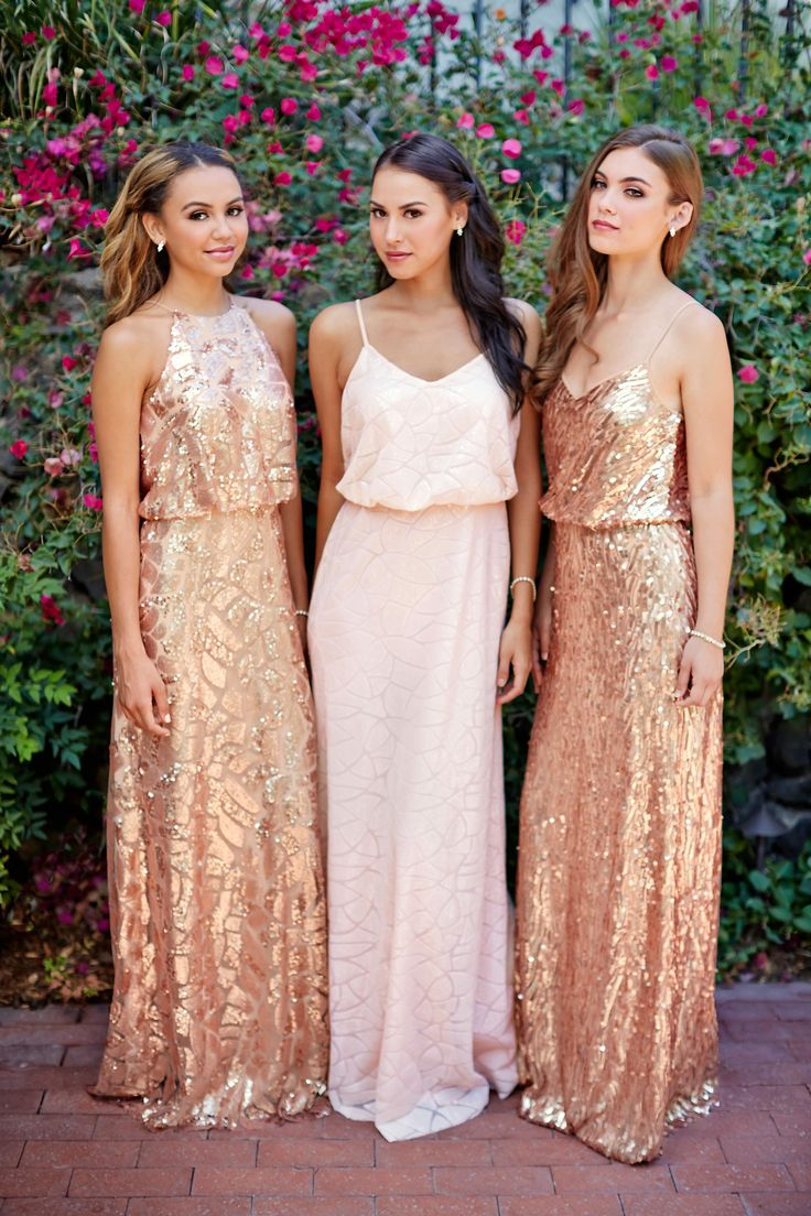 Gold bridesmaid dresses the ultimate accompaniment sang maestro gold bridesmaid dresses ombrellifo Images