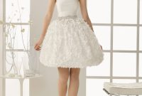 short strapless wedding dresses