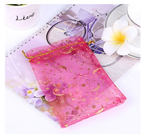 organza accessory bag cheap wedding favor under 1 dollar