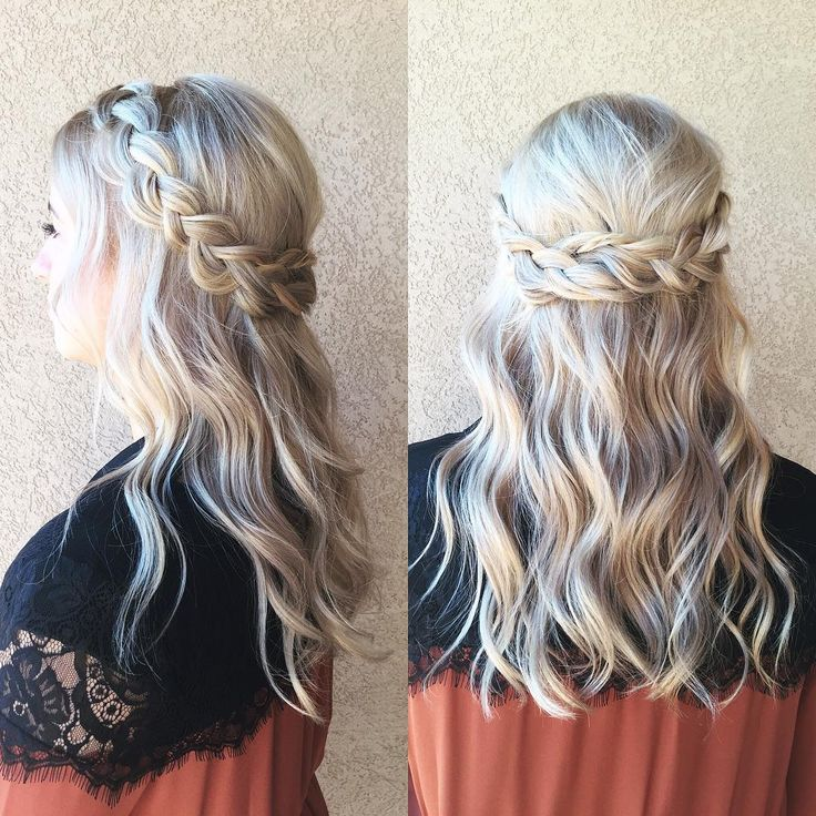 prom hair half up half down hairstyles