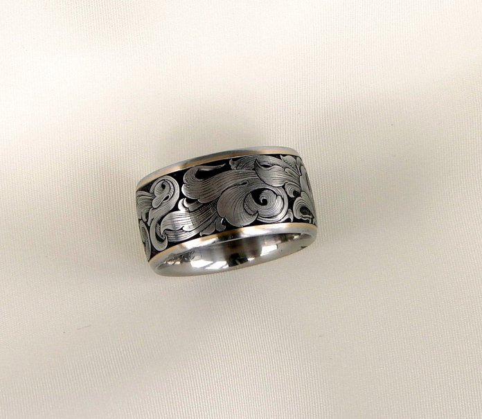 12mm mens wedding bands