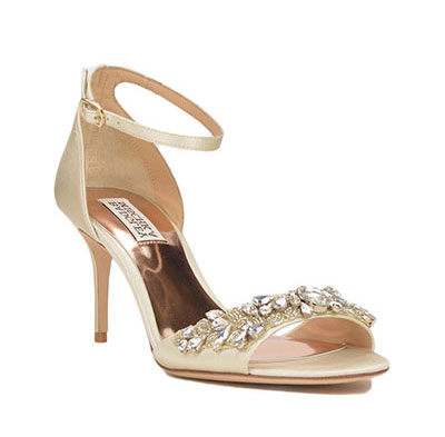badgley mischka open toe wedding shoes