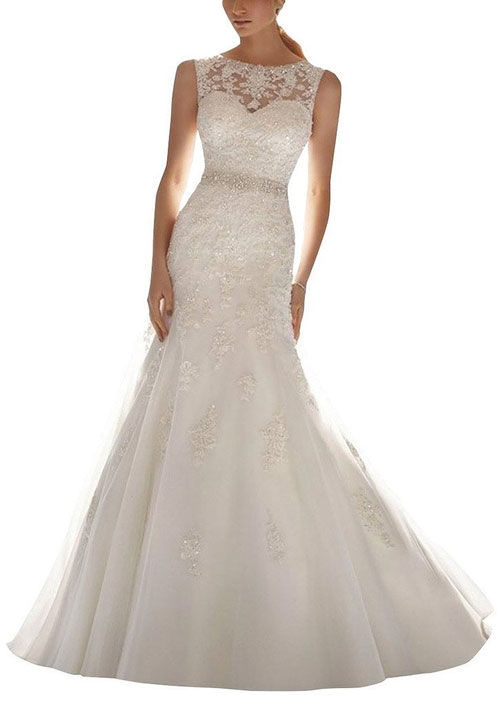 99 dollar mermaid wedding dress